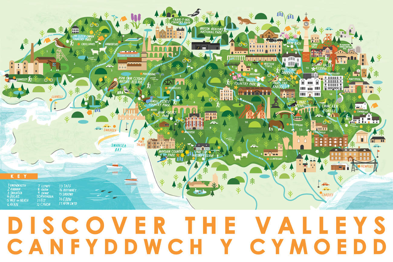 Discover The Valleys Sarah Abbott